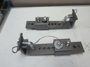 Husky Towing Weight Distribution Hitch Frame Mounting Brackets For Round O8b