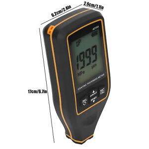 High Accuracy Digital Paint Coating Thickness Gauge Meter Measuring Tool For Car