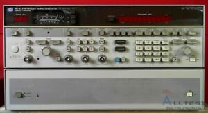 Hp Agilent 8673c Synthesized Signal Generator 50mhz To 18 6ghz Frequency Range