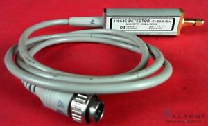 Hp Agilent 11664e Detector 10mhz To 26 5ghz