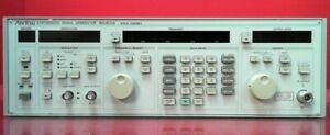 Anritsu Mg3632a Synthesized Signal Generator 100 Khz To 2 08 Ghz