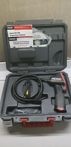 Ridgid Ca 100 Inspection Camera W Extension Cable And Case Manuals
