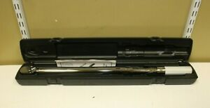 Snap on Tools 1 2 Drive Ratcheting Torque Wrench 50 To 250 Ft Pounds Qd3r250a