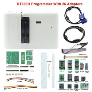 Rt809h Programmer Emmc nand Extremely Fast Universal Programmer 26 Ite