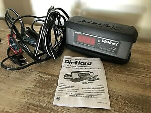 Diehard 71239 2 Amp 6 12v Platinum Smart Battery Charger And 3a Maintainer
