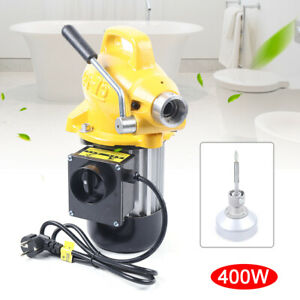 20 100mm Drain Cleaner 400 W Sectional Sewer Snake Drain Auger Cleaning Machine