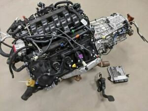 2019 F150 5 0 Coyote Engine Liftout 10r80 2wd Trans Complete 5k Low Miles