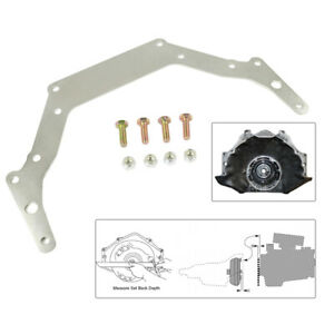 Transmission Adapter Plate For 1962 up Chevy Th350 Th400 Bop to Silver Gm