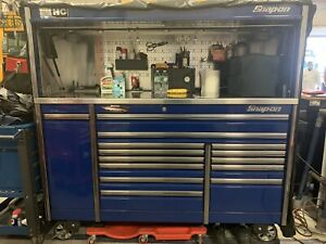 Snap On 84 Epiq Tool Box Stainless Steel Power Top Power Draw Hutch Cover