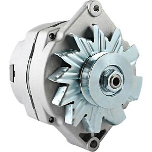 Alternator For Allis Massey Tractor 63 Amp 10si Delco 1 wire 1 2 Inch Pulley