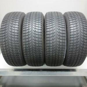 215 65r17 Michelin X Ice Xi3 99t Tire 10 32nd Set Of 4 No Repairs