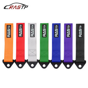 26cm Racing Car Universal Tow Strap Towing Rope High Strength Nylon