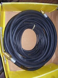 Power Cable Gas Water Heliarc 25 For Esab Hw 26 220 Amp 2 Cables Nos