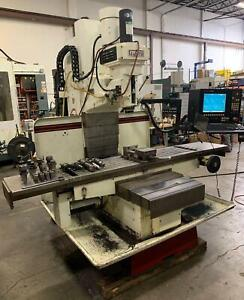 Fryer Mb 15 Cnc Vertical Bed Mill Anilam 5000m Controller 50 X travel Cat 40