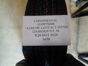 1 New Continental Extreme Contact Dws06 225 40 18 92y Xl 15499770000 Q0