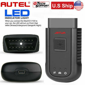 Autel Maxisys Vci 100 Wireless Diagnostic Interface Dlc Bl For Ms906bt Ms906ts