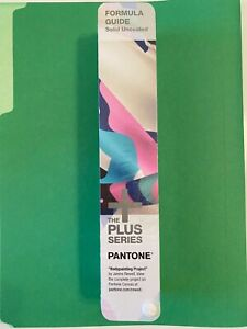 Pantone Plus Series Gp1601n 112 Color Solid Uncoated Only Formula Guide Sealed