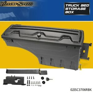 New Rear Right Truck Bed Storage Box Toolbox For 02 18 Dodge Ram 1500 2500 3500