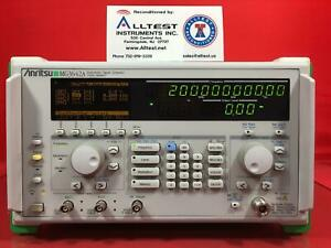 Anritsu Mg3642a Synthesized Signal Generator 125 Khz To 2080 Mhz