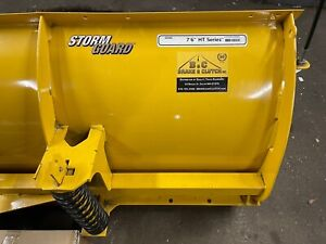 7 6 Fisher Ht Minute Mount 2 Snow Plow Chevy Gmc Like New 2017 Purchase