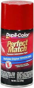 Duplicolor Bty1618 Perfect Automotive Paint For Toyota Barcelona Red