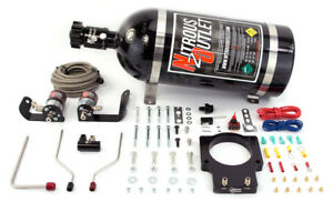 Nitrous Outlet 92mm Fast Intake 04 06 Gto Plate System 10lb Bottle