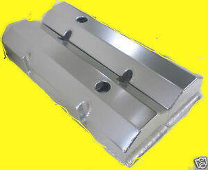 Sbc Small Block Chevy Tall Fabricated Valve Covers With Holes Sheet Metal Cover