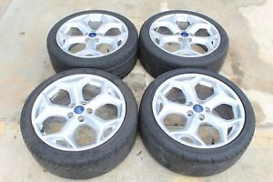 2013 2018 Ford Focus St Oem 18 Inch Snowflake 18x8 Wheels With Tires 5x108