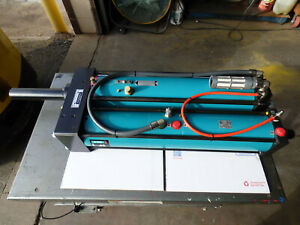 Tox Pressotechnik Air Over Hydraulic Cylinder 15 000lb Force Build Your Own Pres
