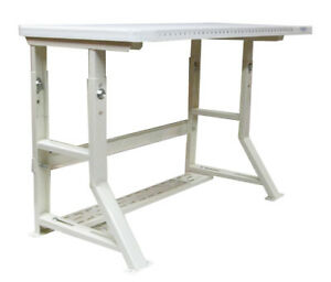 Blank Sewing Machine Table ind Strength Adjustable Height Fits Any Sewing Mach