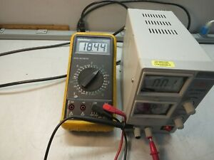 Mastech Hy1803d Variable Dc Power Supply Output 0 18 Vdc 0 3 A