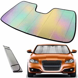 Wideskall Premium Car Windshield Sun Shade Heat Reflector For Suv Pickup Truck