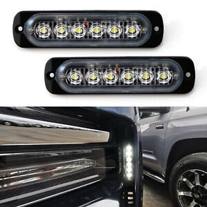 Headlight Side Mount Led Daylight Driving Lights For 19 Up Chevy Silverado 1500