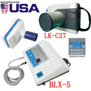 Us Portable Dental X ray Machine Mobile Medical Film Imaging System Blx 5 lk c27