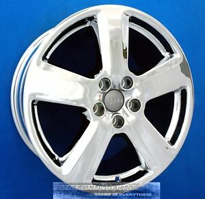 Audi A8 19 Inch Chrome Wheels 19x9 0 Rims Oem 58795 Cv9 Vw Phaeton Bentley Gt