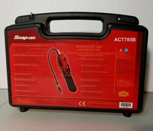 Snap on Act785b Air Conditioning Digital Heated Refrigerant Gas Leak Detector