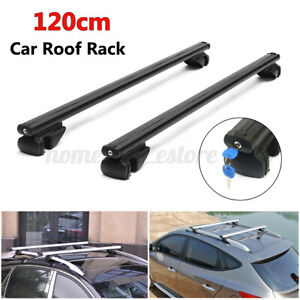 Universal 48 Car Top Luggage Roof Rack Cross Bar Carrier Aluminum W Lock Key