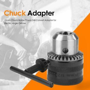 10mm Chuck Holder Power Drill Convert Adapter For Electric Angle Grinder Usa
