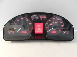 Audi B5 S4 Instrument Gauge Cluster Speedometer Tach 162266 Miles Early Style