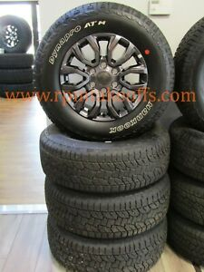 New Takeoff Ford Ranger 17 Wheels Hankook Dynapro Atm 265 65r17 Tires 2019 2021