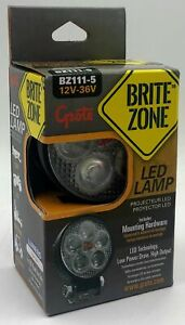 Grote Perlux Bz1115 Led Forward Lighting Round Work Lamp Assembly
