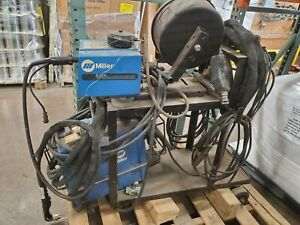 3 Phase Miller Mig flux Core Wire Welder Plasma Cutter W Cart