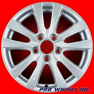 Honda Civic 2012 16 Silver Factory Original Oem Wheel Rim 64024 A