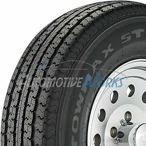 New St205 75 15 Towmax Str Ii 8 Ply D Load Radial Trailer Tires 2057515 2