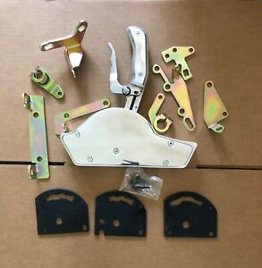 Chevy Ford Mopar Automatic Polished Pro Race Shifter Kit Th350 Th400 700r4