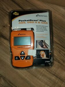 Actron Cp9660 Pocketscan Plus Abs Obd Ii Can Diagnostic Engine Code Scan Tool