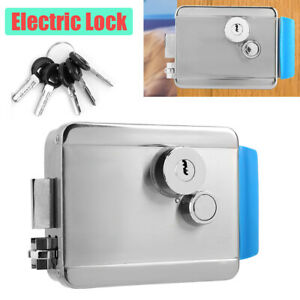 Door Lock Anti theft Access Electric Lock Security Lock For Access Entry Smart