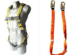 Unitysafe Fall Protection Harness And Lanyard Kit