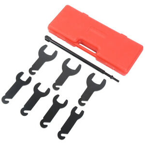 43300 Pneumatic Fan Clutch Wrench Set Removal Tool Kit For Ford Gm Chrysler Jeep