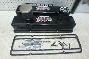 Sbc Oval Track Valve Covers Gaskets And Hold Downs Studs